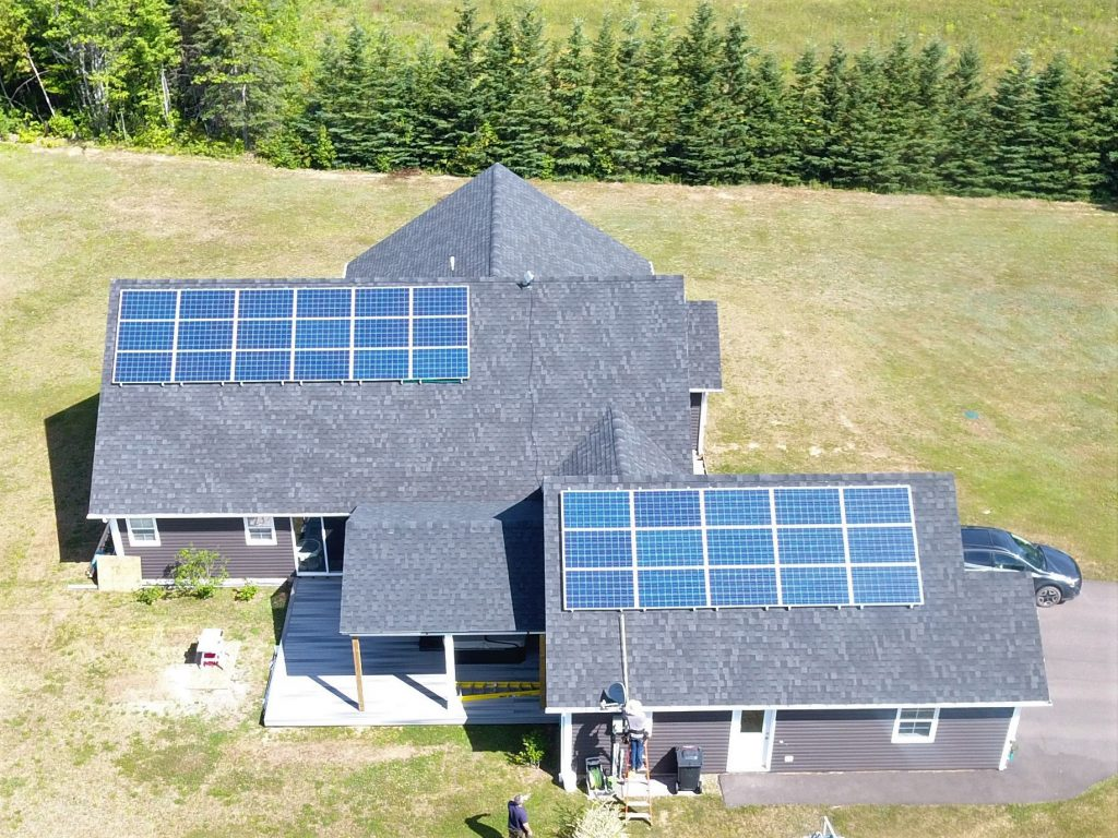 West Prince Solar residential panels